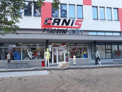 Znovu otevření prodejny v Brně na ulici Křenová
