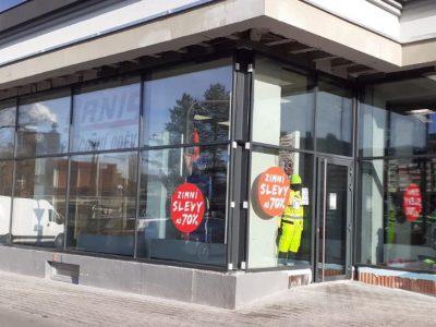 Dne 23.1.2021 uzavřena prodejna v Třinci